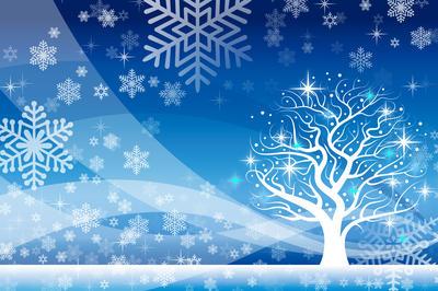背景におすすめ「冬のイメージ素材」