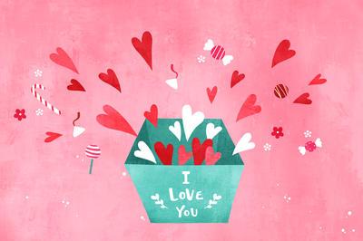 愛を感じる「バレンタインイメージ」