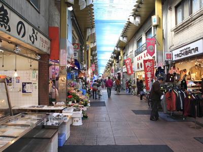 東京の商店街