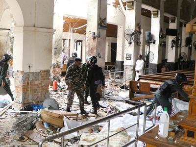 スリランカで爆破テロ