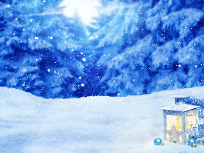 背景素材「降雪イメージ」