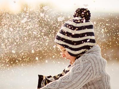 季節の制作に「冬の人物」