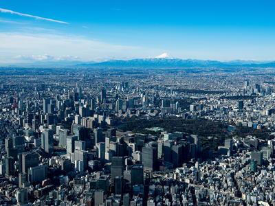 東京の空撮