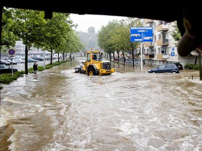 西ヨーロッパで豪雨