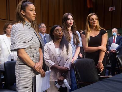 米体操女子 性被害で議会証言