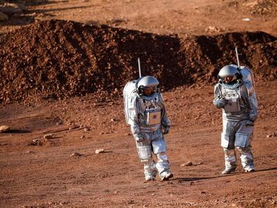 イスラエルで「火星体験」