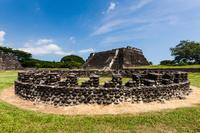 メキシコ ベラクルス州 センポアラ遺跡