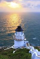 早朝の東引灯台 馬祖