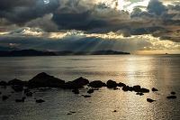 徳島県 鳴門海峡の朝