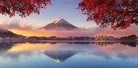 日本 山梨県 河口湖 富士山