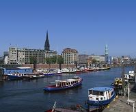ドイツ ハンブルク エルベ川