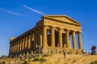 シチリア島 アグリジェント コンコルディア神殿