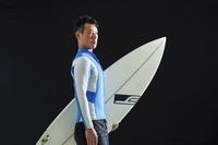 サーフィンの選手 ポートレート
