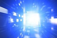 四角形と光 CG