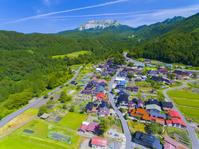 鳥取県 里山と大山