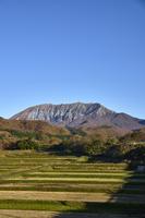 江府町から望む奥大山