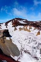 静岡県 富士山頂と火口