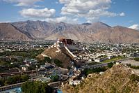 チベット ラサ ポタラ宮