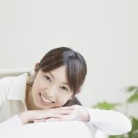 笑う日本人女性