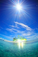 ミクロネシア ジープ島にて
