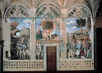 イタリア マントヴァ ドゥカーレ宮殿の壁画