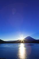 山梨県 富士山と日の出