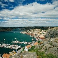 スウェーデン フィエールバッカ 漁村