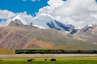 中国 チベット自治区 青蔵鉄道