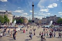 ロンドン トラファルガー広場