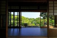 和歌山県 温山荘園 主屋から庭園