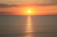 水平線と日の出