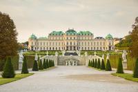 オーストリア ベルヴェデーレ宮殿