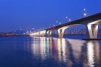 韓国 ソウル 汝矣島 元暁大橋とNソウルタワー
