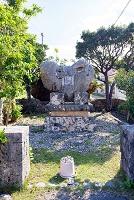 沖縄県 黒島 日本の道100選の碑