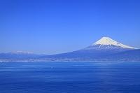 静岡県 富士山と駿河湾と南アルプス