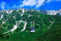 富山県 立山ロープウェイ 大観峰