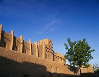 マリ ジェンネ 大モスク ジェンネ旧市街