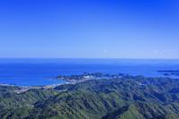 和歌山県 那智勝浦の全景