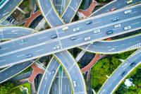 中国 上海の高架道路