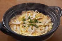 白魚と黄ニラの卵とじ