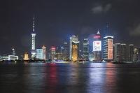 中国 上海 浦東夜景