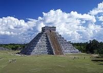 メキシコ カスティーリョ チチェンイツァの遺跡