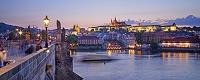 チェコ プラハ カレル橋と旧市街