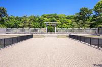 大阪府 新緑の仁徳天皇陵古墳