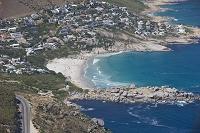 南アフリカ ケープタウン ランドゥッドノ・ビーチ 空撮