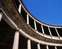 スペイン アルハンブラ宮殿・カルロス5世の宮殿