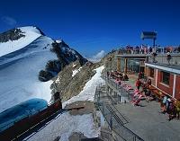 スイス サンモノリッツ ピッツコルバッチ頂上