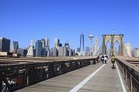 ニューヨーク ブルックリン・ブリッジ ワン・ワールド・トレー...