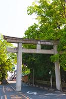大阪府 枚岡神社 石鳥居