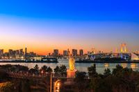 東京都 お台場夕景